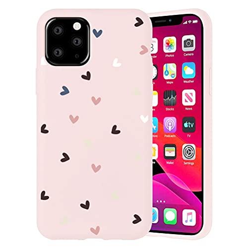 Pnakqil Funda para Apple iPhone 6 Plus / 6s Plus Patrón Silicona Cárcasa, Suave TPU Gel Antigolpes de Protector Piel Case Cover Bumper Case con Dibujos Diseño, Carcasa para iPhone 6s Plus, Amor 1