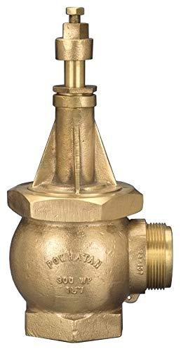 Dixon WHYD4025F Brass Wharf Hydrant, 4