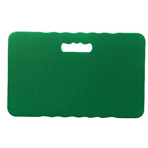 TOPofly Jardín Rodilla Pad, EVA Espuma Gruesa Suave Reclinatorio Mat, Almohada de Rodilla para el Yoga Ejercicio Verde de la Textura aleatoria