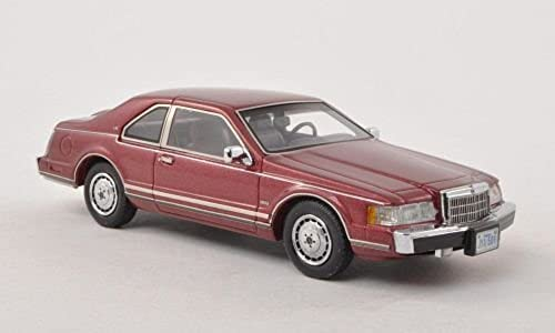 Lincoln Continental Mark VII LSC, metallic-dark rojo, 1984, Model Car, Ready-made, Neo 1 43 by Lincoln
