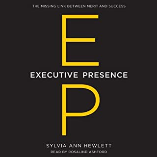 Executive Presence audiobook cover art