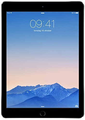 Apple iPad Air 2 64GB Wi-Fi - Space Grey (Renewed)