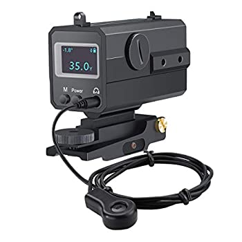 BOBLOV AK800 Mini Tactical Outdoor Hunting Rangefinder 800m All-Weather use Can be Installed on Three Sides with Headset/Wire Control and Voice Broadcast Function,Rail Mount Lightweight