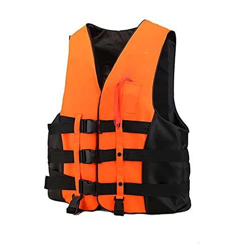 GGBHD Chalecos salvavidas para adultos, gran flotabilidad, barcos profesionales, chalecos de pesca portátiles, chalecos salvavidas de natación y snorkel