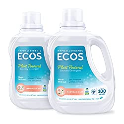 Ecos eco friendly laundry detergent