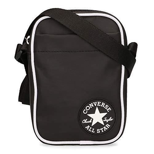 Converse Coated Retro Small Cross Body Bag - Black