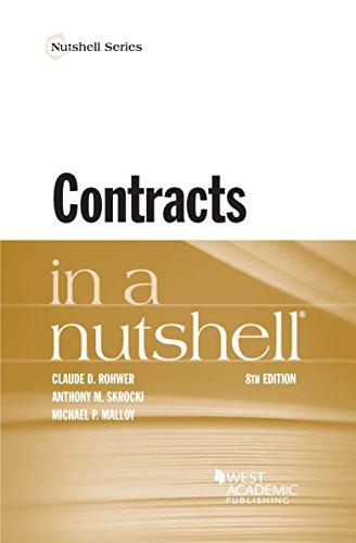 Contracts in a Nutshell (Nutshells) (English Edition)