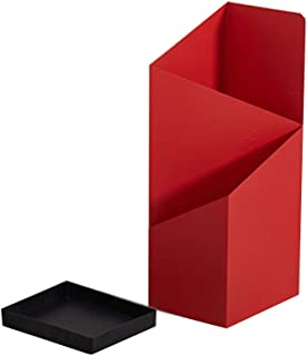 Color : Gold Portaombrelli WXYZ Stand in Ferro Battuto Ombrello Moderno E Semplice con Il Gocciolamento Vassoio al Deposito A Lungo E Breve Ombrelli 25x20x60cm Nero Bianco Rosso Oro Rosa
