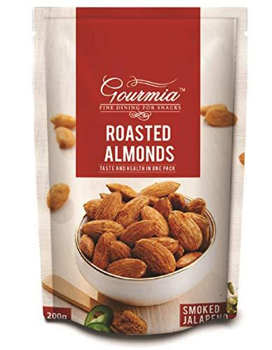 Gourmia Roasted Almonds Smoked Jalapeno 200g