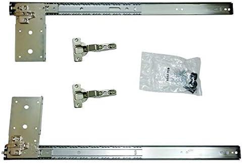 Kv Pivot Overseas parallel import regular item Door Slide Hardware Inset Closing 14 Self Application New life 1