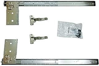 Kv Pivot Door Slide Hardware Inset Application Self Closing 22 1/8