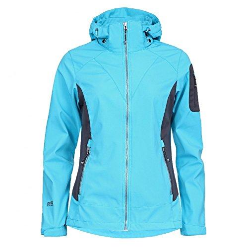 Icepeak Sandy Damen Softshell Jacke, Farbe:Blau;Bitte Größe wählen:40
