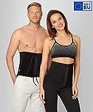®BeFit24 Rückenwärmer für Herren und Damen - Nierenwärmer - Sport Nierengurt - Wärmegürtel - [ Size 3 ]