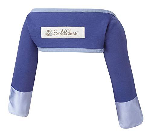 ScratchSleeves ScratchSleeves   Kratzhandschuhe mit Ärmeln für juckreizgeplagte Babys   Dunkelblau   3-6m