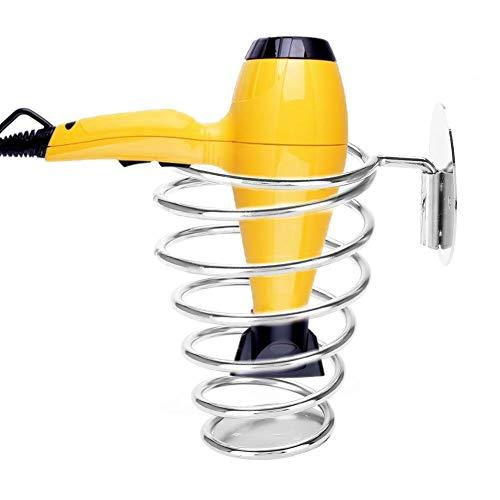Spiraal Blower Stand, Lente Stijl Muur Montage Haardroger Opknoping Rack, Top-Kwaliteit RVS Föhn Blowers Houder, Beste Keuze voor Thuis Haar Salon Beauty Salon