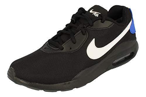 Nike Air Max Oketo Mens Running Trainers AQ2235 Sneakers Shoes (UK 8 US 9 EU 42.5, Black White Game Royal 016)
