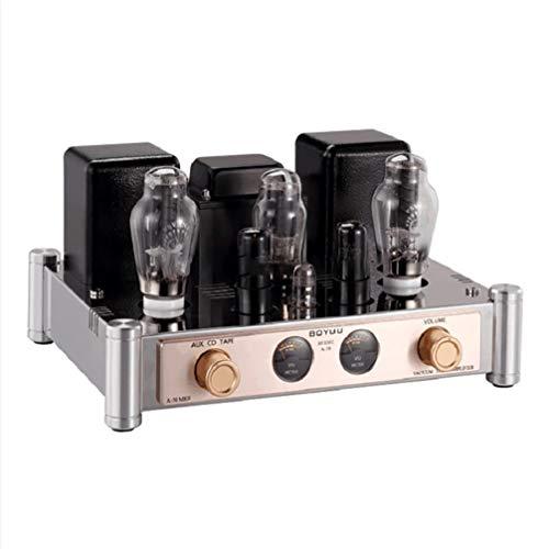 Reisong BOYUU A50 MKII 300B Amplificatore valvolare 8.2W × 8.2W Amplificatore classe A 12AT7 6P6P Amplificatore valvolare con coperchio
