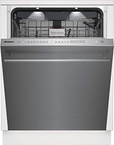 Blomberg DWT81800SS 24 Inch Built In Fully Integrated Dishwasher in Fingerprint-Free Stainless Steel