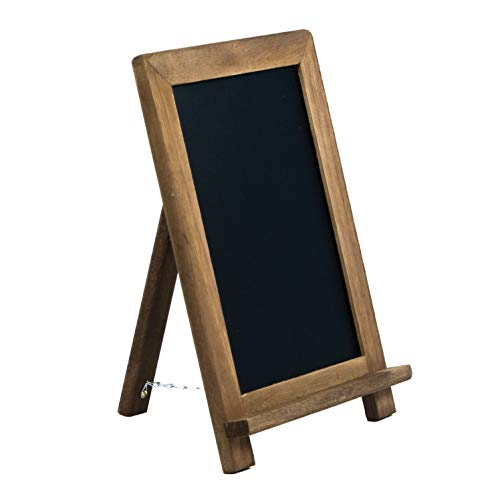 Tabletop Chalk Boards with Frame by VersaChalk (13x9, Porcelain, Magnetic) A Frame Chalk Board Sign for Business, Bistro Bar, Sandwich Menu, Sidewalk, Parties, Classroom, Wedding