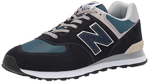 New Balance Men's 574v2 Essential Sneaker, Dark Navy/Marre, 13 M US