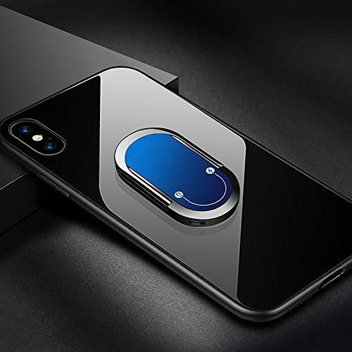 Ashtray 2 en 1 Encendedor de Cigarrillos Soporte magnético teléfono del Coche del Soporte del Cargador automático del teléfono Celular Anillo de Soporte Soporte para iPhone Samsung Huawei,E