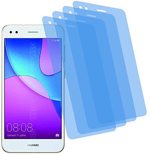 I 4X Crystal Clear klar Schutzfolie für Huawei Y6 Pro 2017 Bildschirmschutzfolie Displayschutzfolie Schutzhülle Bildschirmschutz Bildschirmfolie Folie