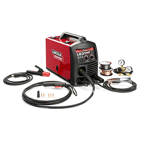 Lincoln Electric LE31MP MIG Welder with Multi Processes - Transformer, MIG, Flux-Cored, Arc and TIG, 120V, 80-140 Amp Output, Model Number K3461-1