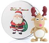 Regalo di Natale Chiavetta USB 16GB Memoria USB Flash Drive 2.0 Memory Stick,...
