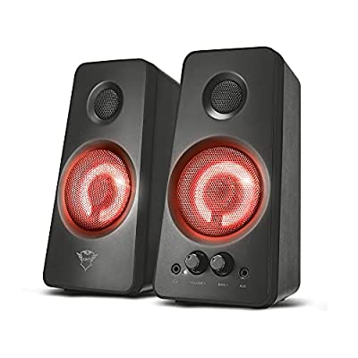 Trust Gaming GXT Tytan 2.0 PC Gaming Speaker, Black by Trust