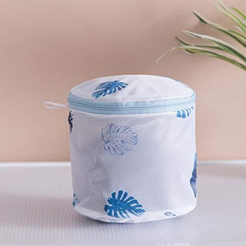 Finer 1 stks waszakken voor wasmachines mesh beha ondergoed tas voor kleding steun wasserette saver beha wassen lingerie beschermen, cilindrische beha