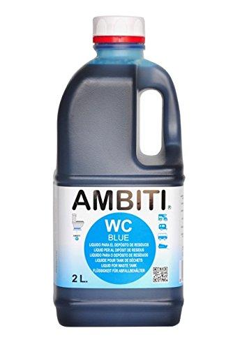 Ambiti Blue 2 L. aditivo para el depósito de residuos, aguas negras...