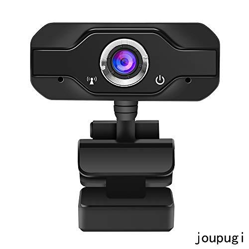 Fu666 PC Webcam, 720P Full HD Webcam USB Desktop & Laptop Webcam Live Streaming Webcam with Microphone Widescreen HD Video Webcam for Video Calling