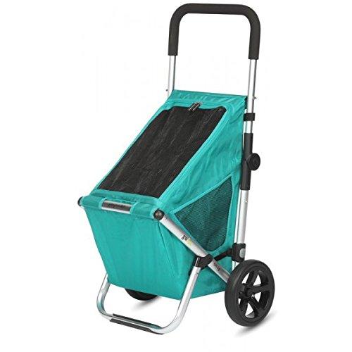 Playmarket Go Fun Carro de la compra, 50 litros, Poliéster, Verde