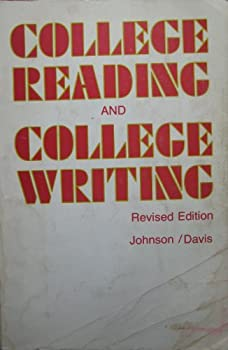 Paperback College Reading And College Writing - Revised Edition Book