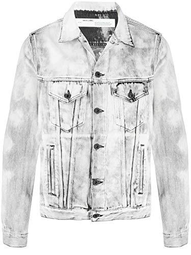 Luxury Fashion | Off-white Heren OMYE005S208120257510 Grijs Katoen Jassen | Lente-zomer 20
