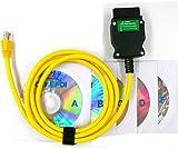 Enet OBD Cavo, Interfaccia diagnostica Ethernet OBDII E-SYS Coding Cavo di Programmazione OBD2 Serie F