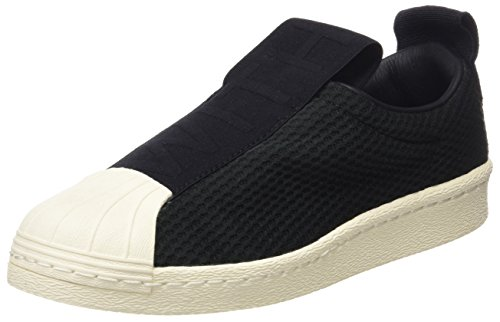 adidas Superstar Bw3S Slipon W, Zapatillas de Deporte para Mujer, (Core Black/Core Black/Off White), 38 EU