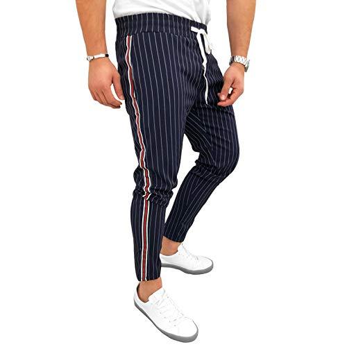 N/ A Pantaloni Sportivi da Uomo Sport Casual Coulisse VitaElasticizzataPantaloni Slim FitTuta Elastica Pantaloni Sportivi Palestra