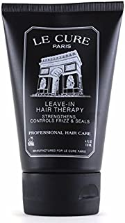 Leave-In Hair Therapy. Deep Conditioning Solution. For Men and Women. Moisturize while reversing split ends. Hydrates, strengthens, controls frizz and seals hair. Professional Hair Care By LeCureParis