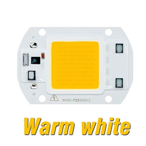 QiuKui COB LED viruta Grow Phyto lámpara, Full Spectrum AC220V 110V 10W 20W 30W 50W for de interior Planta de semillero crecer y lámpara Crecimiento Flor (Color : 220V)