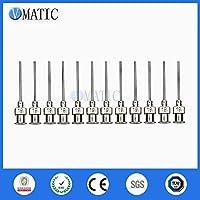 12Pcs 1 Inch Tip Length 19G Blunt Stainless Steel Glue Dispensing Syringe Needles Glue Dispenser Needle