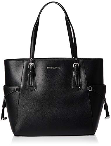 MICHAEL Michael Kors Voyager East/West Tote Black One Size