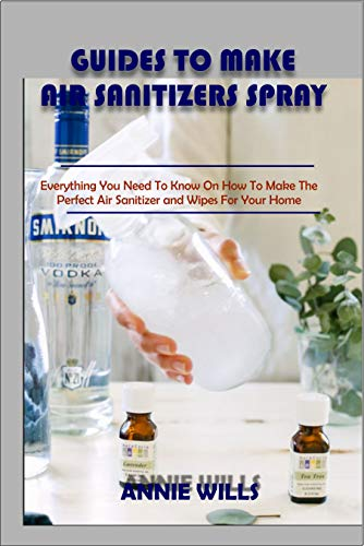 GUIDES TO MAKE AIR SANITIZER SPRAY: Everything You Need to Know on How to Make The Perfect Air Sanitizer and Wipes For Your Home