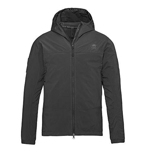 Tasmanian Tiger TT Maine M's Jacket ultra-leichte Herren Softshell-Jacke, windabweisend, Outdoor Funktionsjacke für Einsatz, Trekking, Laufen, Fahrrad, Arbeit, Größe L Schwarz