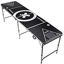 Beer Pong Tisch - Audio Table Design - Beer Pong Table inkl. Ballhalter, 6 Bälle und 2 Gratis Bier Pong Racks
