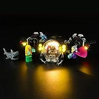 LIGHTAILING Licht-Set Für (DC Universe Super Heroes Batman im Bat-U-Boot) Modell - LED Licht-Set Kompatibel Mit Lego 76116(Modell Nicht Enthalten)