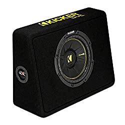 commercial Kicker 10 inch CompC2 ohm shallow subwoofer housing (open box) kickers sub woofers