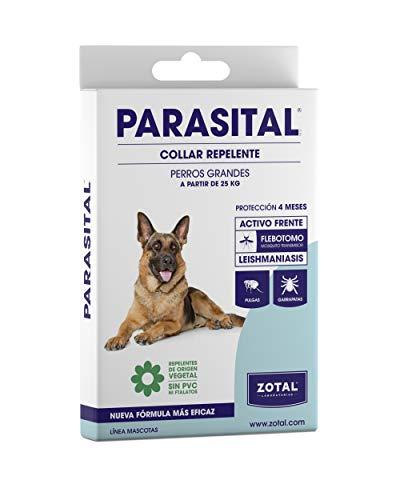 Zotal - Parasital Collar Antiparasitario de 75 cm para