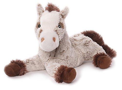 Inware 6373 - Kuscheltier Pferd Harry, liegend, 30 cm, beige/braun