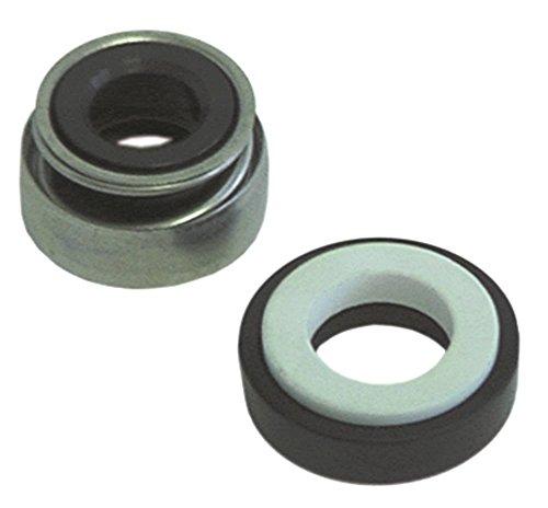 Glijringafdichting voor vaatwasser binnen ø 8 mm roestvrij staal/keramiek/EPDM 8 mm hoogte tegenring 8 mm